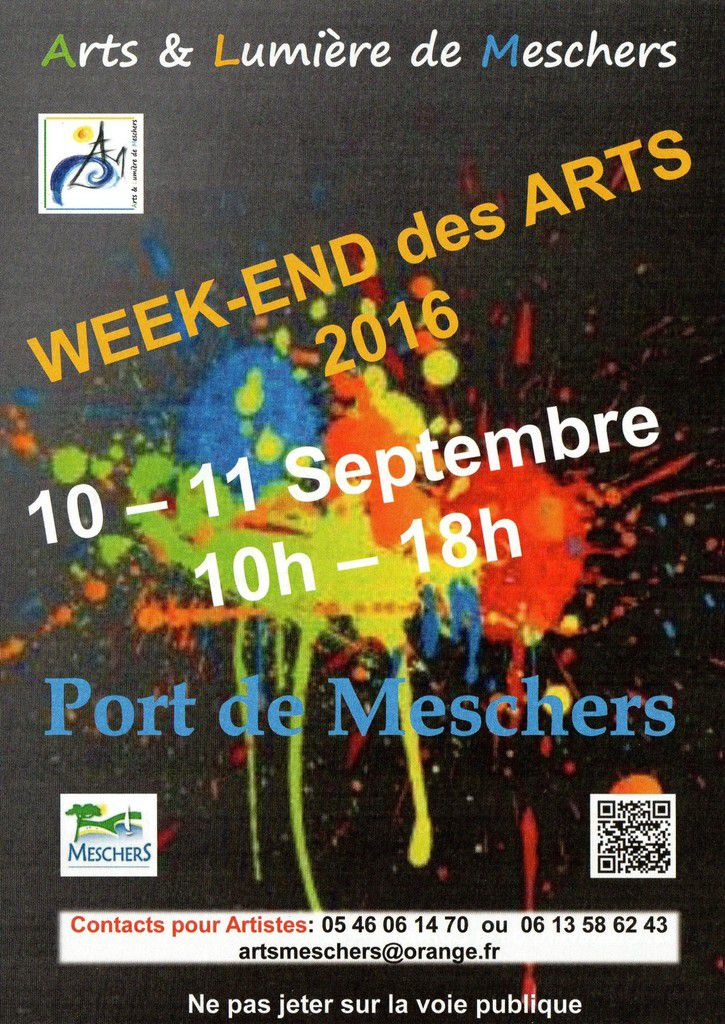 WEEK-END des ARTS - 10 & 11 sept