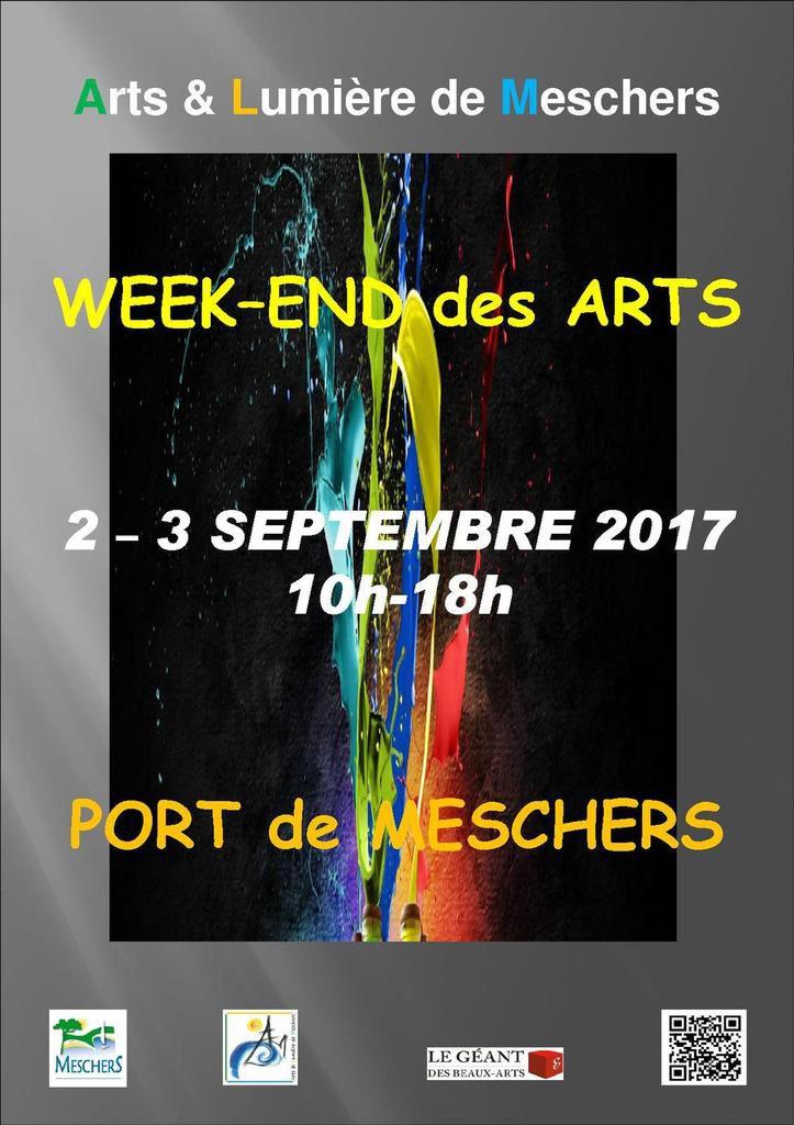 Week-end des Arts - 2 & 3 septembre