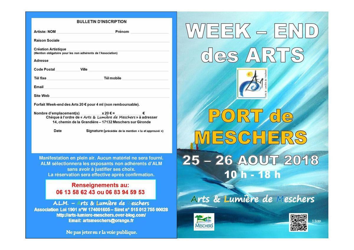 Week-end des Arts 2018 - 5ème édition