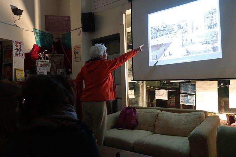 Manifesten, janvier 2019, Christine Breton autour de la destruction de la ville historique