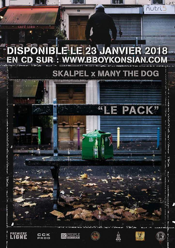 """LE PACK"" disponible le 23 janvier 2018 #ScalpelXManyTheDog"
