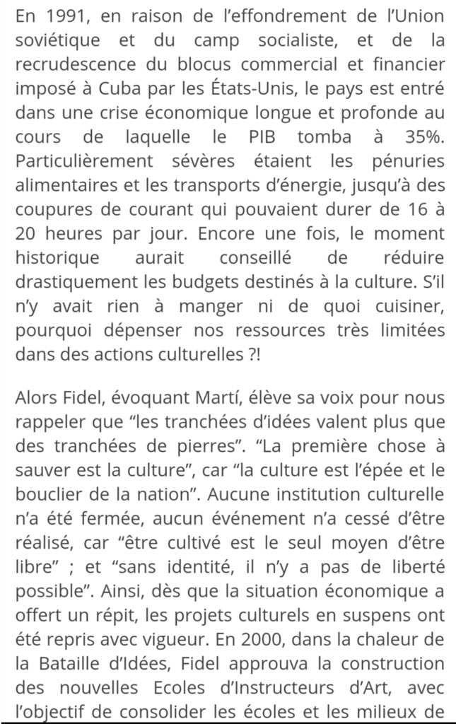 De l'importance de la culture