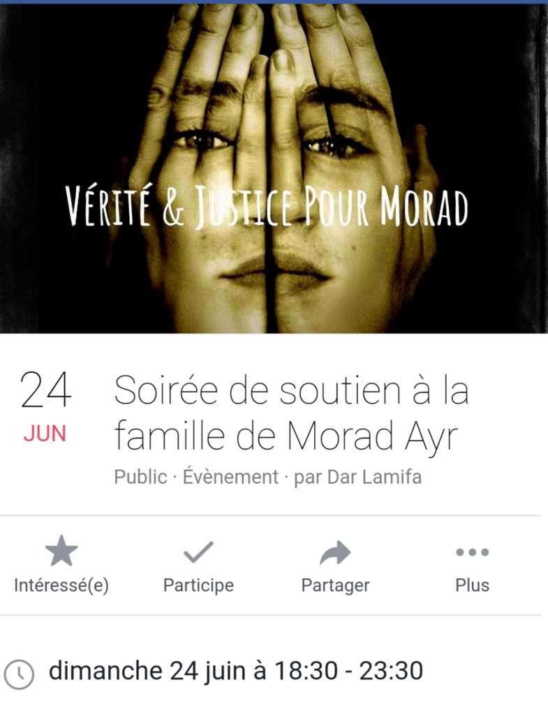 Verite et justice pour Morad