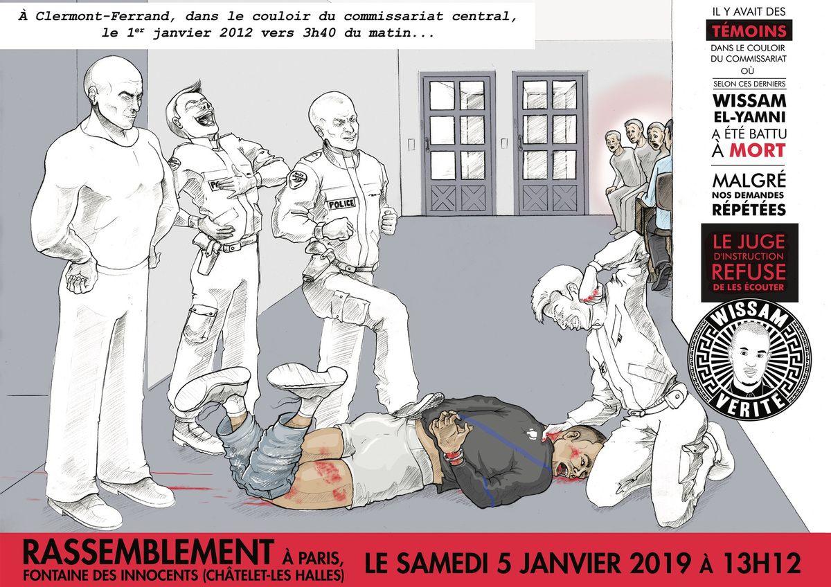 Rassemblement le Samedi 5 Janvier 2019 à 13h12 sur Paris, à Châtelet, près de la fontaine des innocents