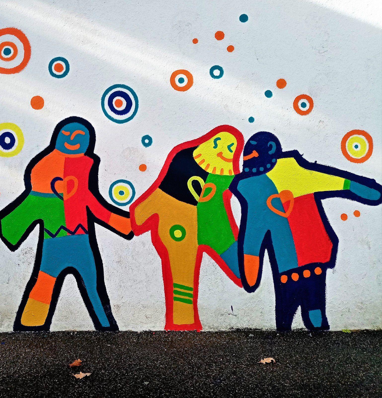 STREET ART Ecole La Roche Derrien