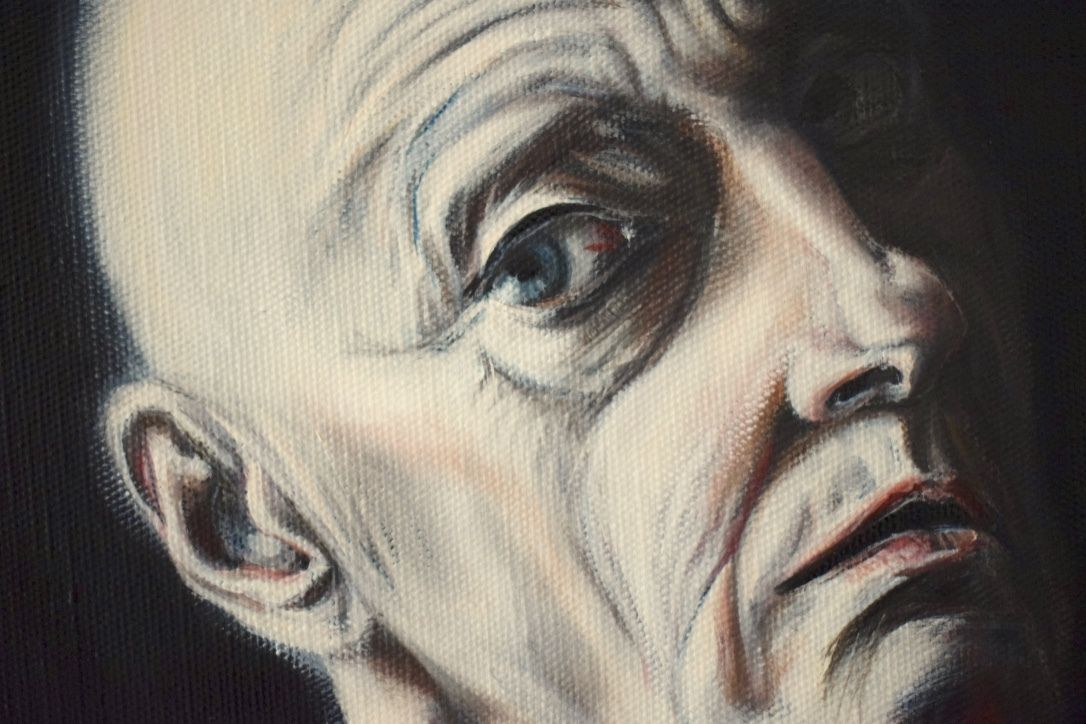 ANGST UND NOT : Huile sur toile