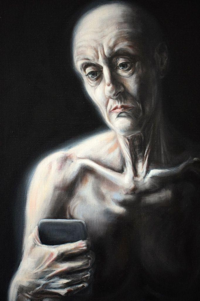 L'ART DE LA FUGUE : huile sur toile