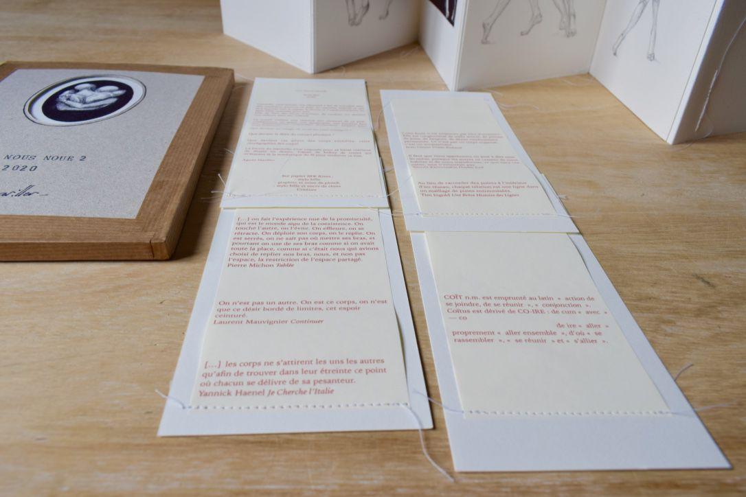 DES NOUS NOUÉS 1 & 2 : livres d'artiste