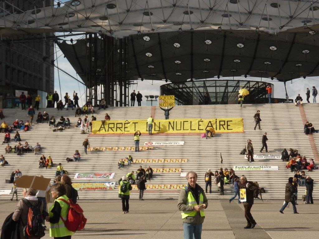 Chaine humaine Paris 2013