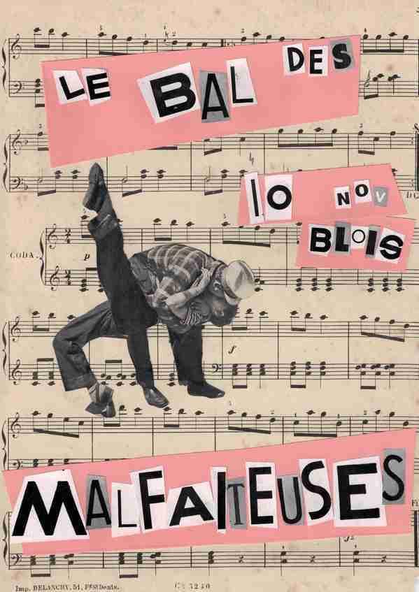 Les malfaiteuses guinchent samedi 10/11 16h place Louis XII à Blois