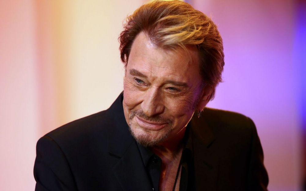 JEAN D'ORMESSON... JOHNNY  HALLYDAY