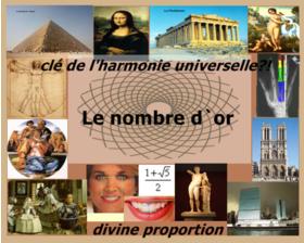 CONFERENCE /  LE NOMBRE D'OR