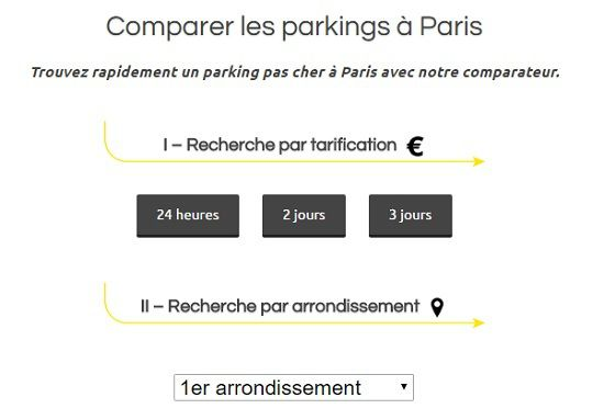 trouver le parking le moins cher paris code de la route gratuit 2017. Black Bedroom Furniture Sets. Home Design Ideas