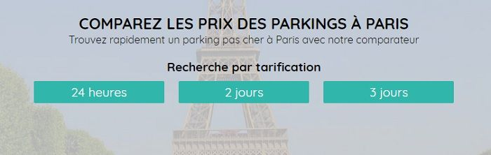 parking est paris