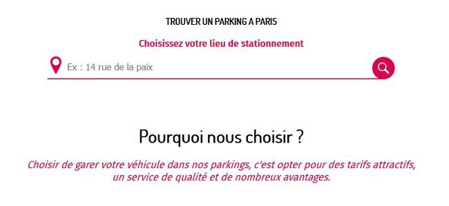 Parking 75020 pas cher