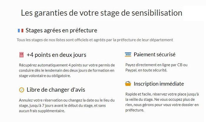 stage de récupération de points Le Havre