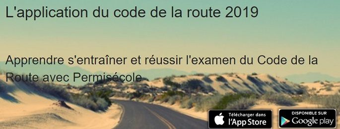code de la route application