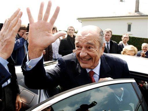 Chirac : « Ah tiens ! Il y a même des jeunes »