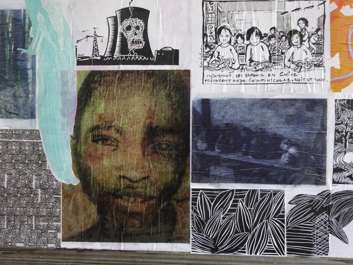 L'exposition à la Maison des Arts
