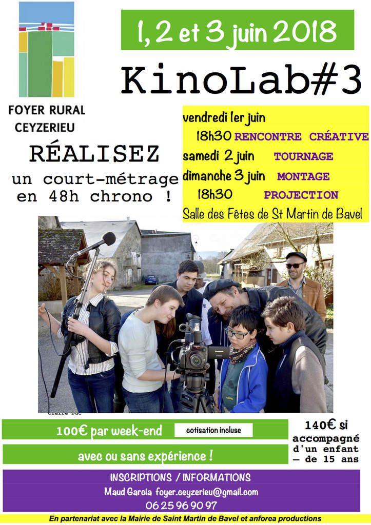 CinéOfoyer KinoLab #3