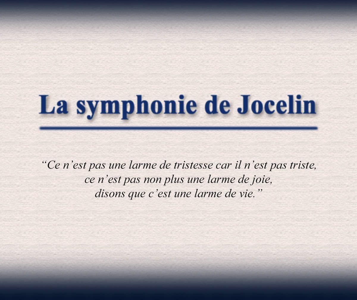 La symphonie de Jocelin