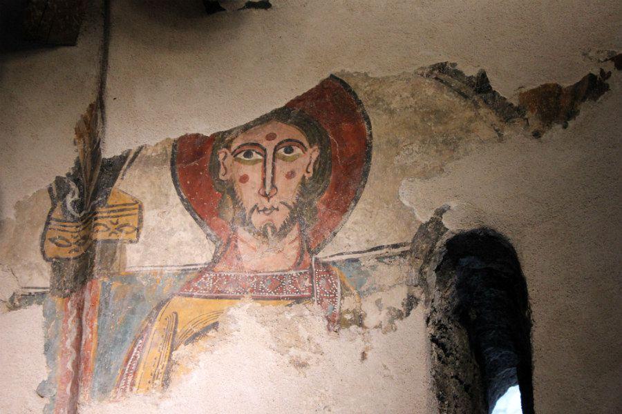 fresque du XII° (Val d'Aran)