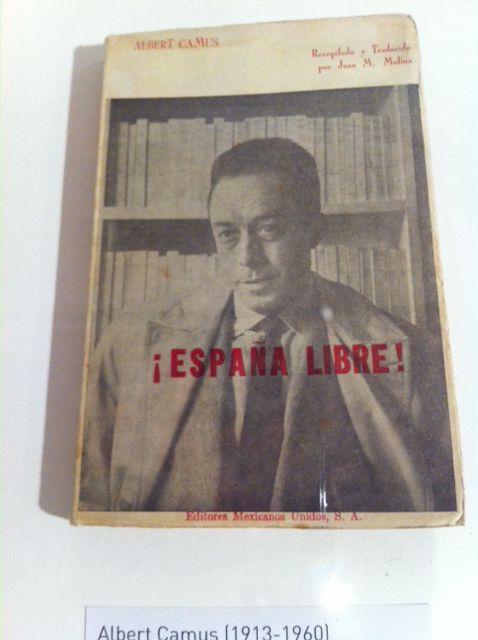 Albert Camus, militant de l'Espagne républicaine