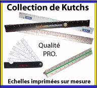 Collection de kutch ou cutch en plastique et en aluminium