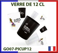 Verre de 12cl fabrication France