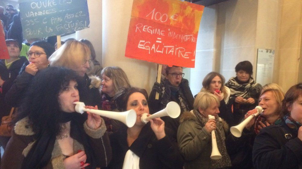 Manifestation des agents territoriaux de Reims : aucun accord pour le moment
