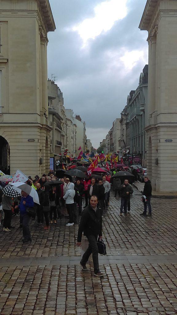 Photos de la manifestation du 12 septembre à reim