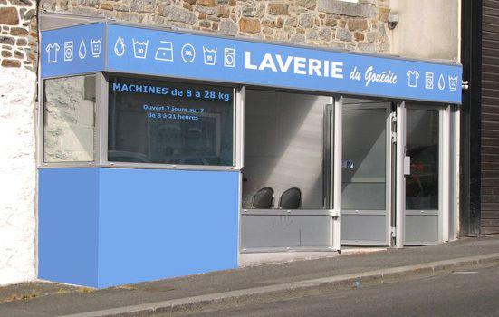 Panneaux pour Laverie