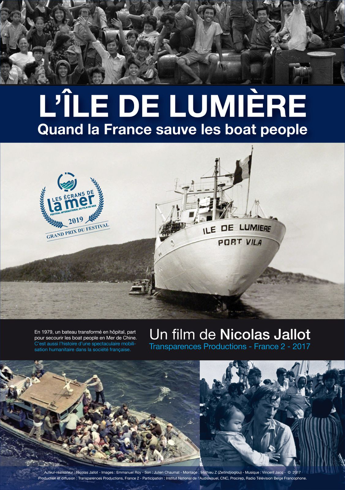 Affiche de film documentaire