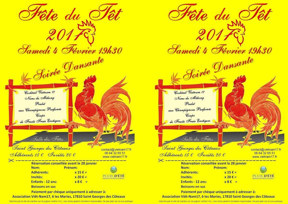 Fête du Têt - 4 février 2017 à Saint-Georges des Coteaux