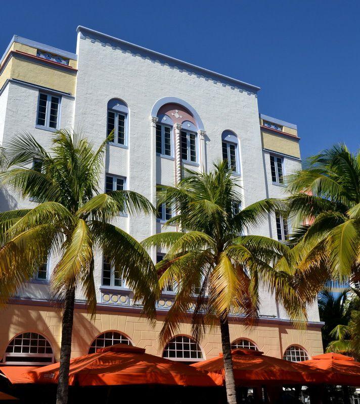 Art Déco à Miami Beach, reportage d'Alain Escaudemaison