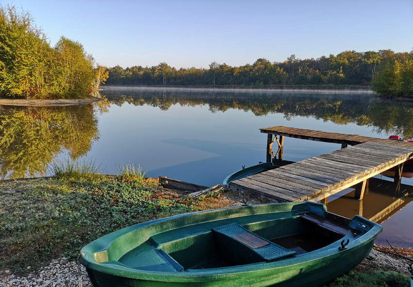 La sérénité bucolique des étangs de Sologne.
