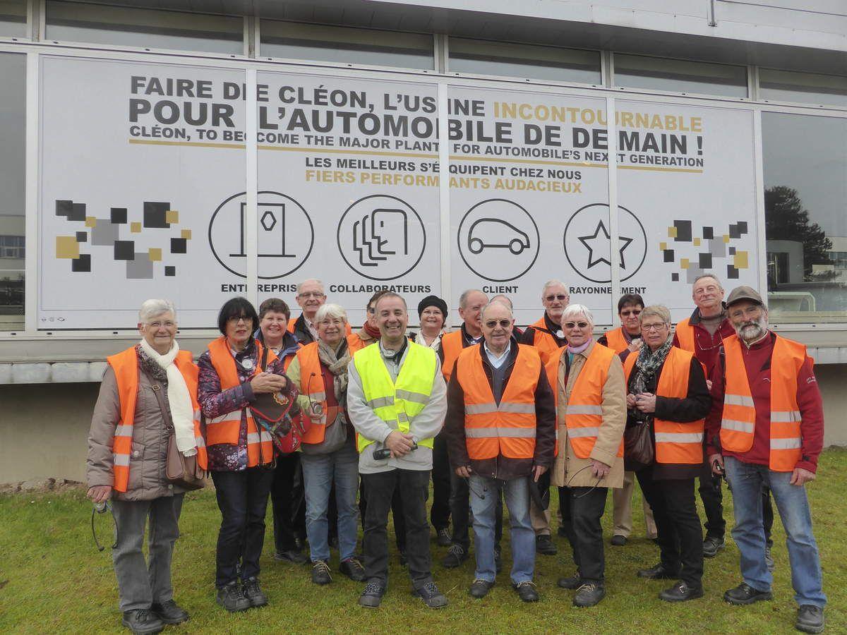 Les Rai-Baladeurs à la découverte de l'Usine Renault de Cléon
