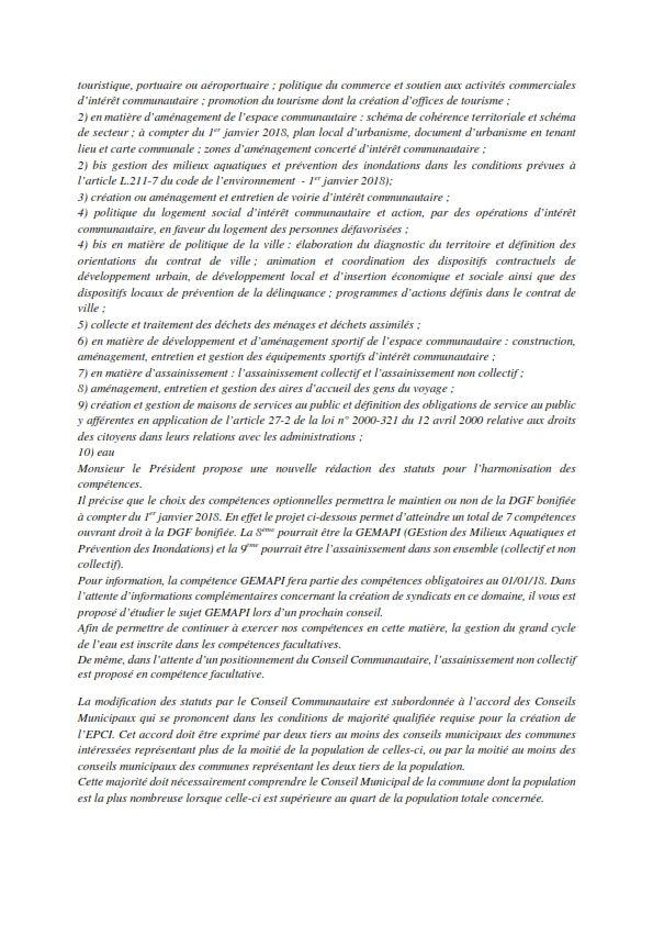 Réunion du Conseil Municipal en date du 04 juillet 2017
