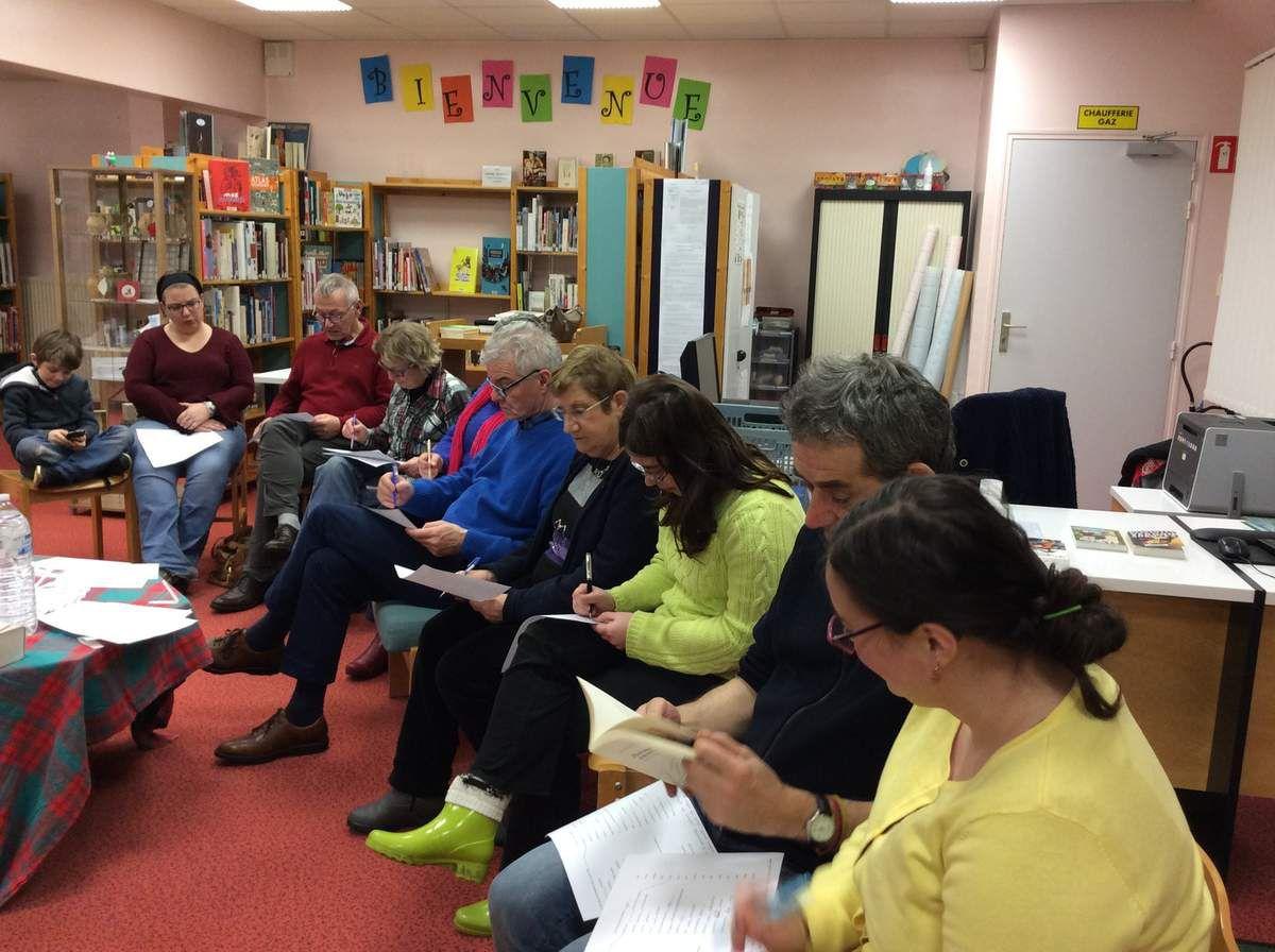 La Nuit de la Lecture à la bibliothèque : les expressions ont eu du succès !