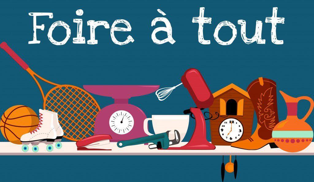 """Foire à tout lors de """"Rai en Fête 2019"""""""