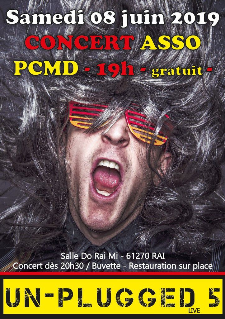 "Concert de fin d'année de l'association PCMD ""Un-Plugged 5"""