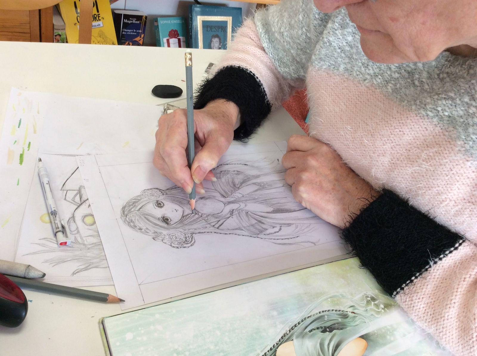 Atelier de dessin avec Gaëlle : le manga intergénérationnel !
