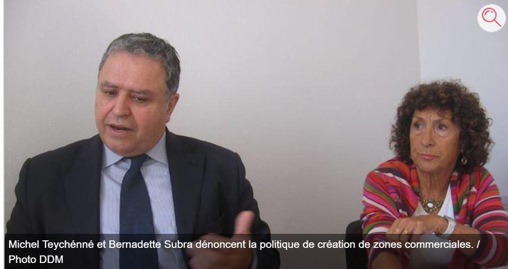 Pamiers : Ils dénoncent la politique « du ruban et des ciseaux »