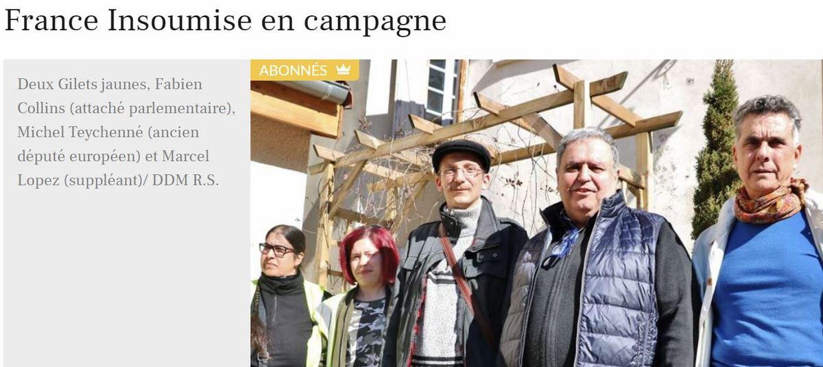 La France Insoumise en campagne