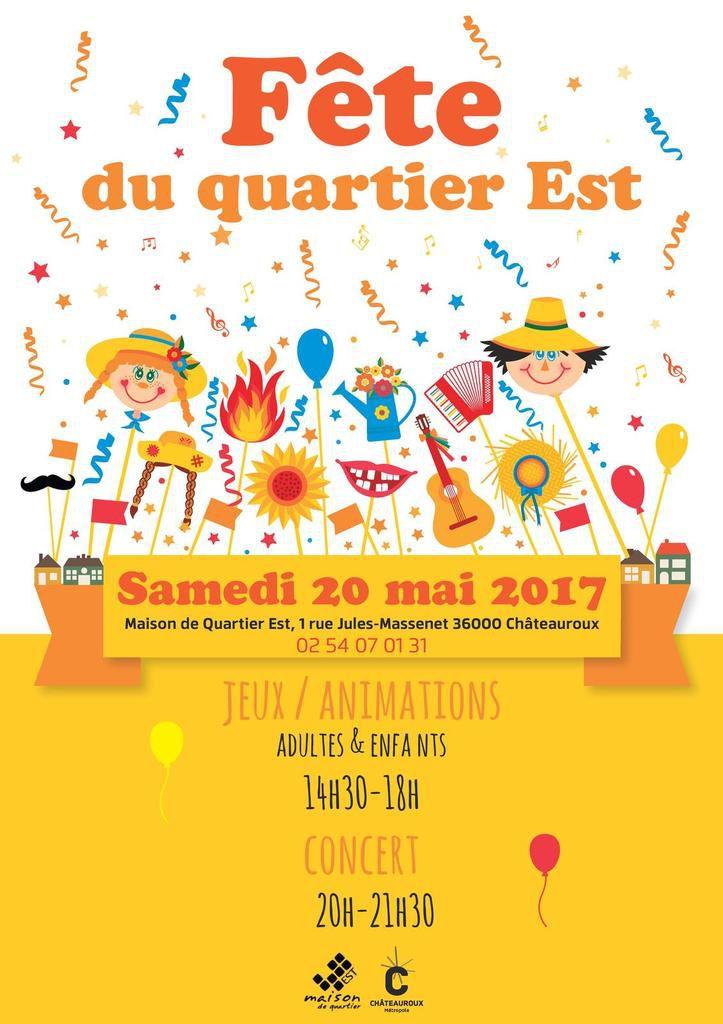 Fête du Quartier Est de Châteauroux