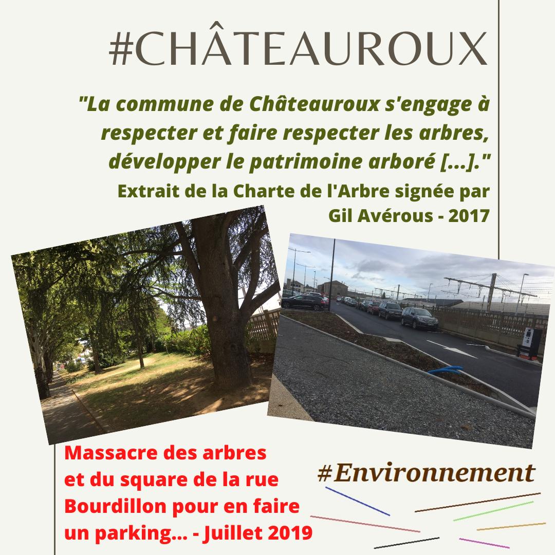 Un square et ses arbres transformés en parking : la lutte bien singulière de la majorité municipale contre le réchauffement climatique...
