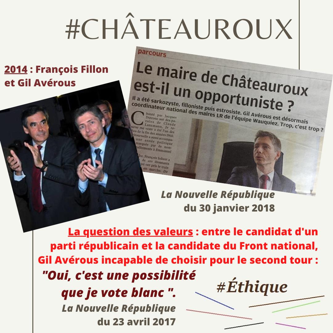 Démocratie locale - Éthique : A Châteauroux, des mots ignorés depuis 2014 !