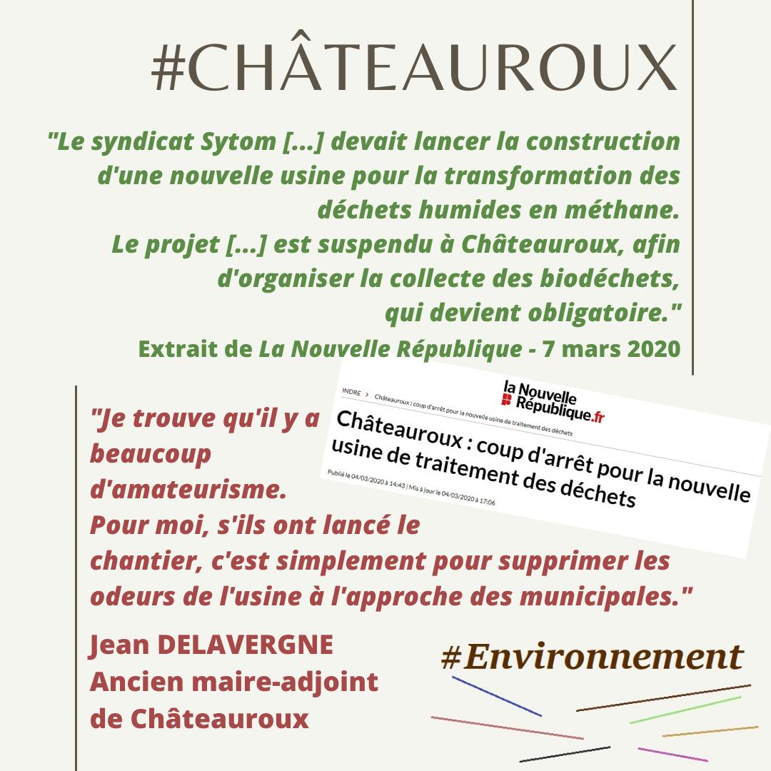 Environnement : un mandat pour minéraliser Châteauroux !
