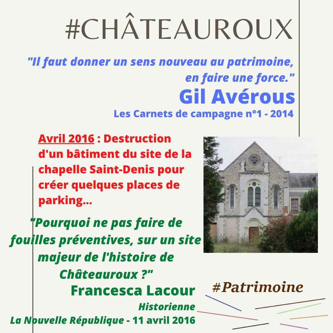 Culture - Patrimoine : Les grands oubliés à Châteauroux