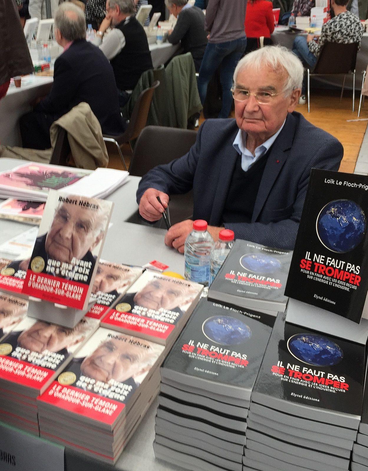 Robert Hébras à Limoges le 28 avril 2018